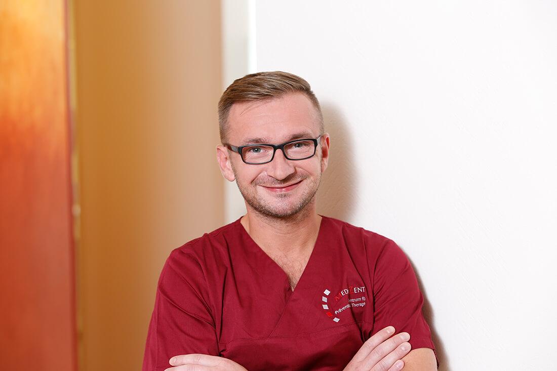 Zahnarzt, Holzminden, Medizent, Team, David Philipp Gajcowski
