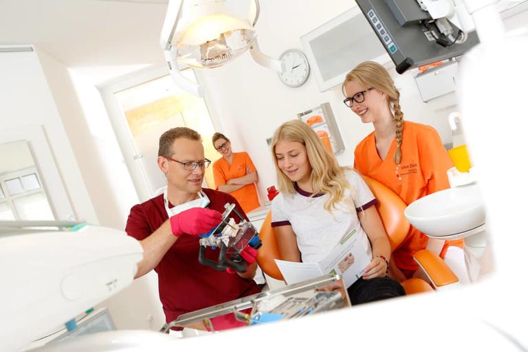 Zahnarzt, Holzminden, Ronald Werner, Medizent, Leistung, Kieferorthopaedie