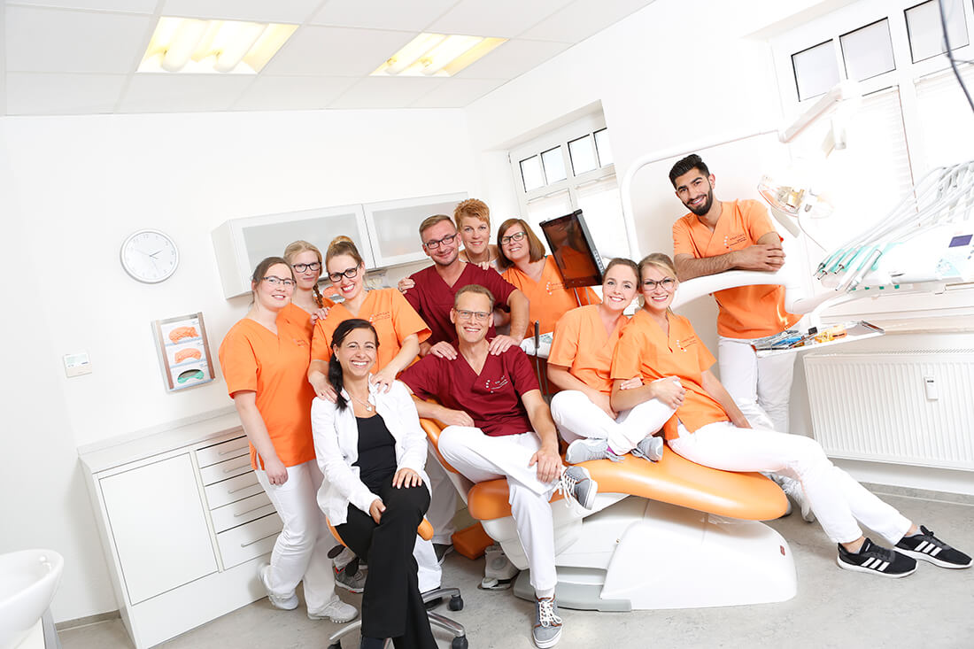 Zahnarzt, Holzminden, Medizent, Ronald Werner, Team